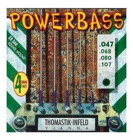 Thomastik Infeld - Power Bass Roundwound 47-107 4-String Bass Strings