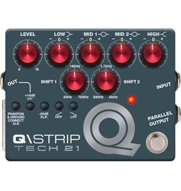 "Tech21 - Q\Strip Dual Parametric EQ Instrument DI ""Channel Strip"""