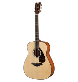 Yamaha - FG800M Acoustic Guitar w/Solid Top, Natural