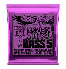 Ernie Ball - Round Wound 5 String Bass 50-135 Power Slinky