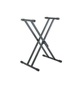 "K&M - Keyboard Stand Double-Braced X-Stand w/""Smart-Lock"""