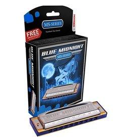 Hohner - 595BX Blue Midnight Harmonica, Bb