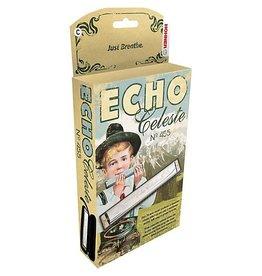 Hohner - 455BX-D Echo Celeste Vibrato Harmonica, D<br /> Echo Celeste Vibrato<br /> Key of C