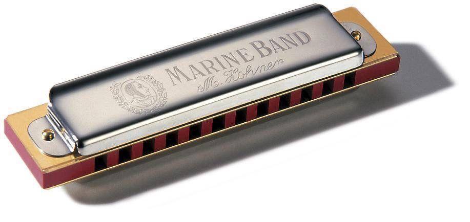 Hohner - 364 Marine Band Soloist Diatonic (12 Hole), C
