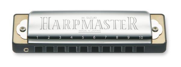 Suzuki - SU-MR200 Harp Master Harmonica, Bb