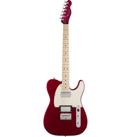 Squier - Contemporary Telecaster HH, Dark Red Metallic