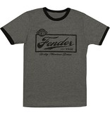 Fender - Black Beer Label T-Shirt, M