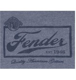 Fender - Blue Beer Label T-Shirt, M