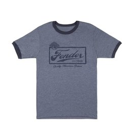 Fender - Blue Beer Label T-Shirt, S