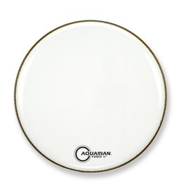Aquarian - Force II Gloss White Bass Drumhead, 22""