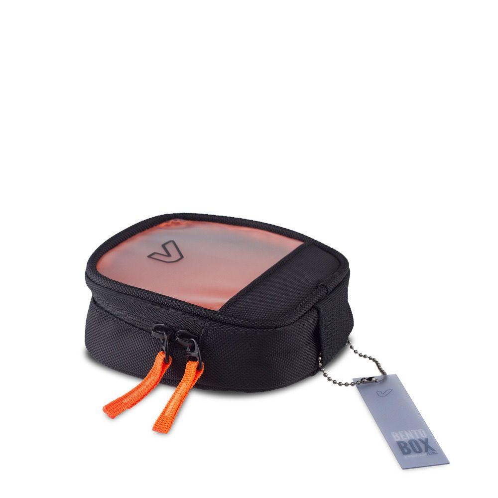 Gruv Gear - Bento Box, Half/Slim, Classic Black/Orange