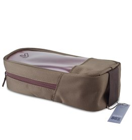 Gruv Gear - Bento Box, Full/Tall, Elite Pewter/Crimson