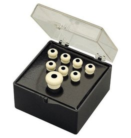 Martin - Pin Set, White w/Black Inlay