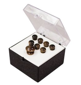 Martin - Pin Set, Ebony Plain