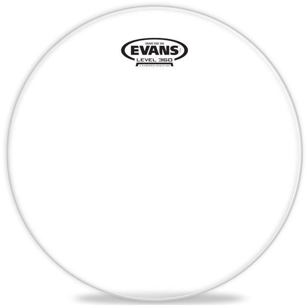 """Evans - Hazy 300 Snare Side, 14"""""""