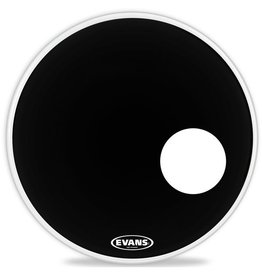 Evans - Black EQ3 Resonant, 22""