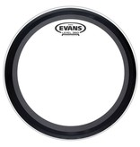 Evans - Clear EMAD Bass Batter, 22""