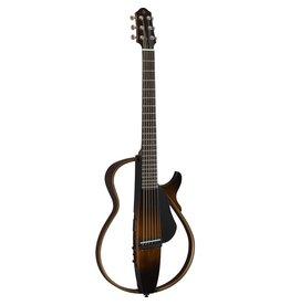 Yamaha - SLG200S Silent Guitar, Steel String, Tobacco Brown Sunburst