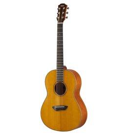 Yamaha - CSF3M All Solid Wood Parlour Guitar w/Pickup, Vintage Natural