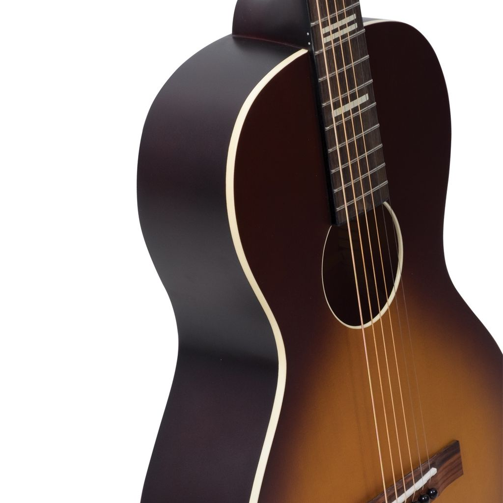 Recording King - RPH-P2-TS Parlor, Solid Top, Tobacco Sunburst