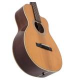 Recording King - RP1-16C Schoenberg Torrefied Adirondack Spruce Top Guitar, 0 Body Cutaway, w/Pickup