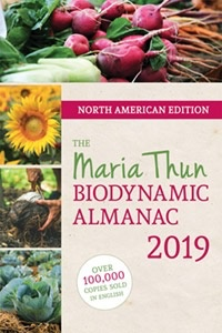 Floris Books The North American Maria Thun Biodynamic Calendar 2018