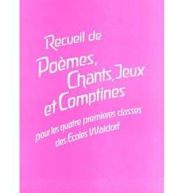 Uncategorized Recueil de poèmes, chants, jeux et comptines