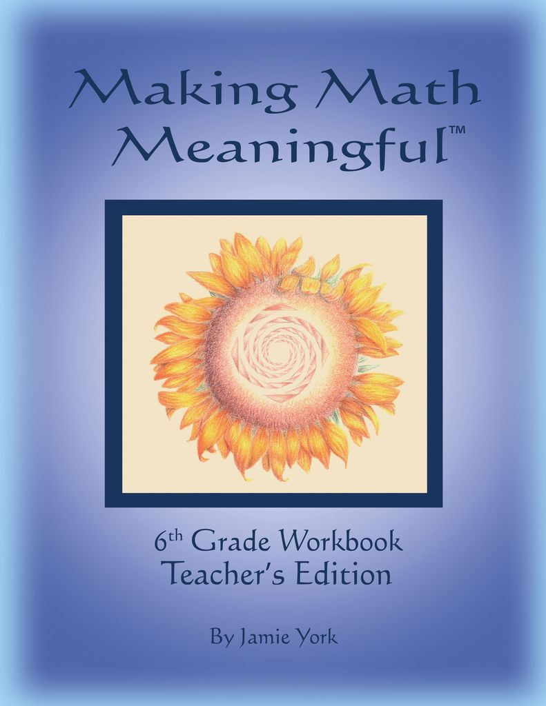 Jamie York Press Making Math Meaningful: A 6th Grade Workbook Teacher's Edition