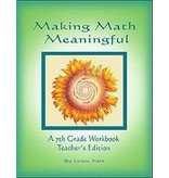 Jamie York Press Making Math Meaningful: A 7th Grade Workbook Teacher's Edition