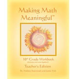 Jamie York Press Making Math Meaningful: A 10th Grade Workbook Teacher's Edition