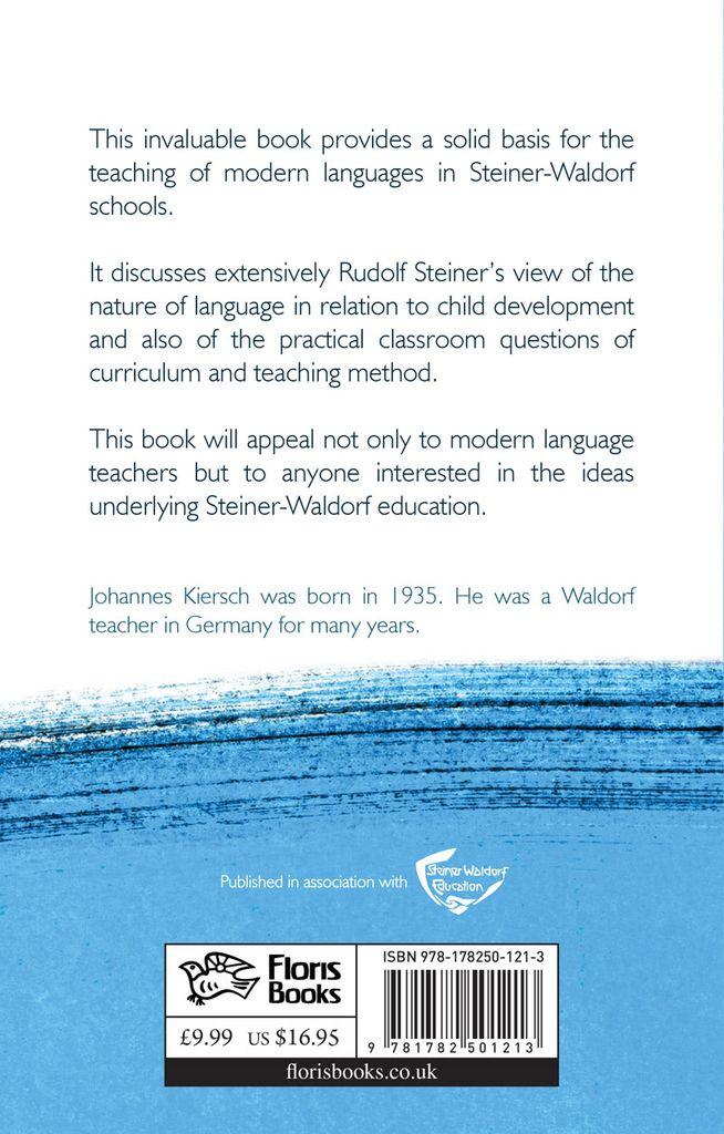Floris Books Language Teaching In Steiner-Waldorf Schools: Insights From Rudolf Steiner