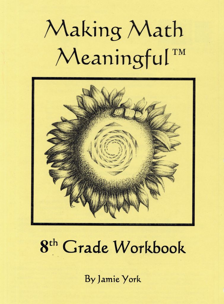 Jamie York Press Making Math Meaningful: An 8th Grade Student's Workbook