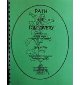 Eric K. Fairman A Path of Discovery – Grade 5:  A Program of a Waldorf Grade School Teacher