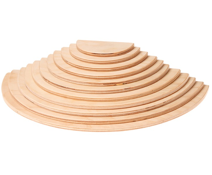 Grimm's Large Semicircles, natural (11 pcs)