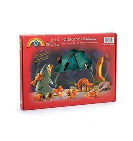 Ostheimer Forest Set with Diorama 12 pcs