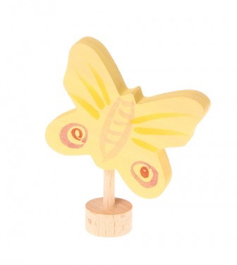 Grimm's Deco Butterfly, Yellow