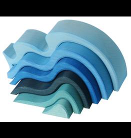 Grimm's Water Waves, Blue 6 Pcs.