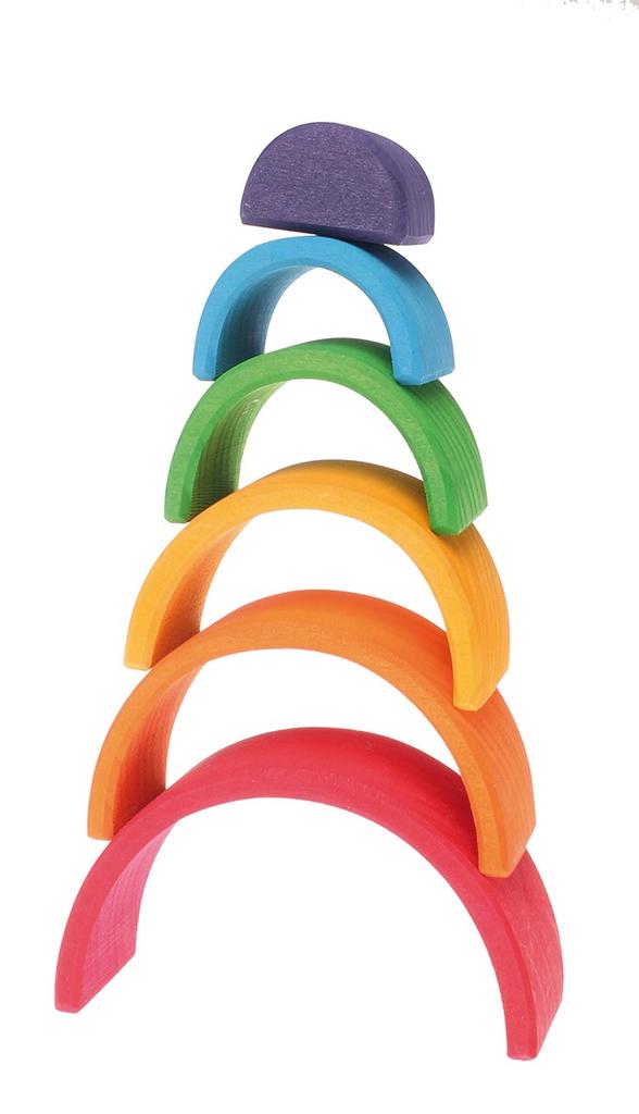 Grimm's Small Rainbow, Multi-Coloured 6 Pcs.