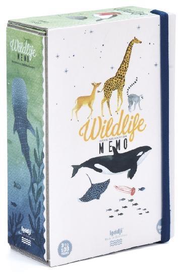 Londji Memory Game - Wildlife