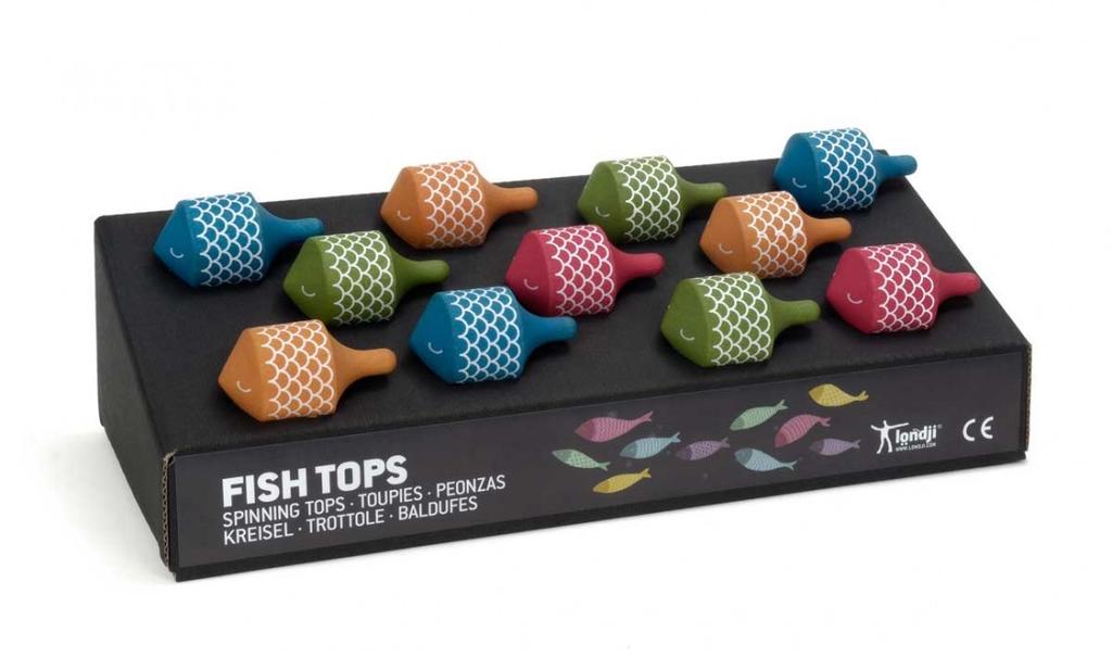 Londji Spinning Top - Fish