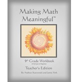 Jamie York Press Making Math Meaningful: A 9th Grade Workbook Teacher's Edition