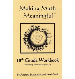 Jamie York Press Making Math Meaningful: A 10th Grade Student's Workbook