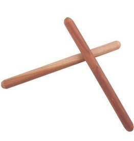 "Camden Rose Rhythm Sticks - 10"" Cherry Wood"