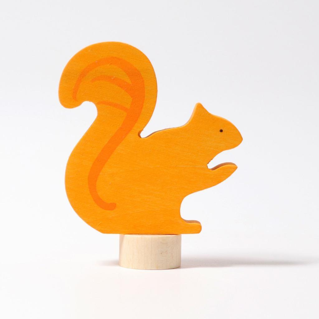 Grimm's Deco orange squirrel