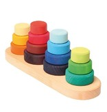 Grimm's Fabuto Stacking Tower on 4 pegs
