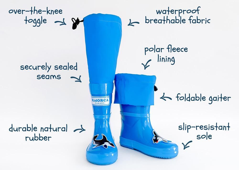 Kid Orca KidORCA MyPuddle Boots