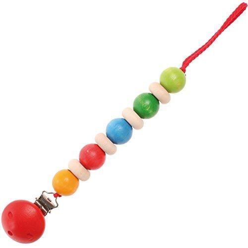 Grimm's Pacifier Ribbon, Rainbow Colours