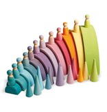 Grimm's 12 Pastel Rainbow Friends