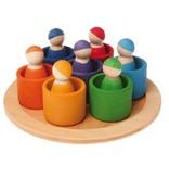 Grimm's Seven Friends Including Bowls