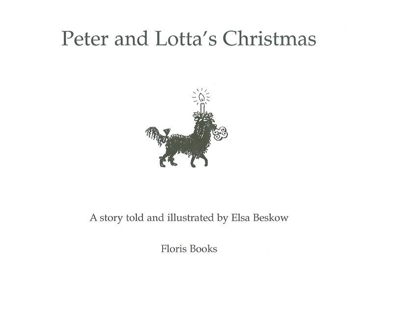 Floris Books Peter And Lotta's Christmas